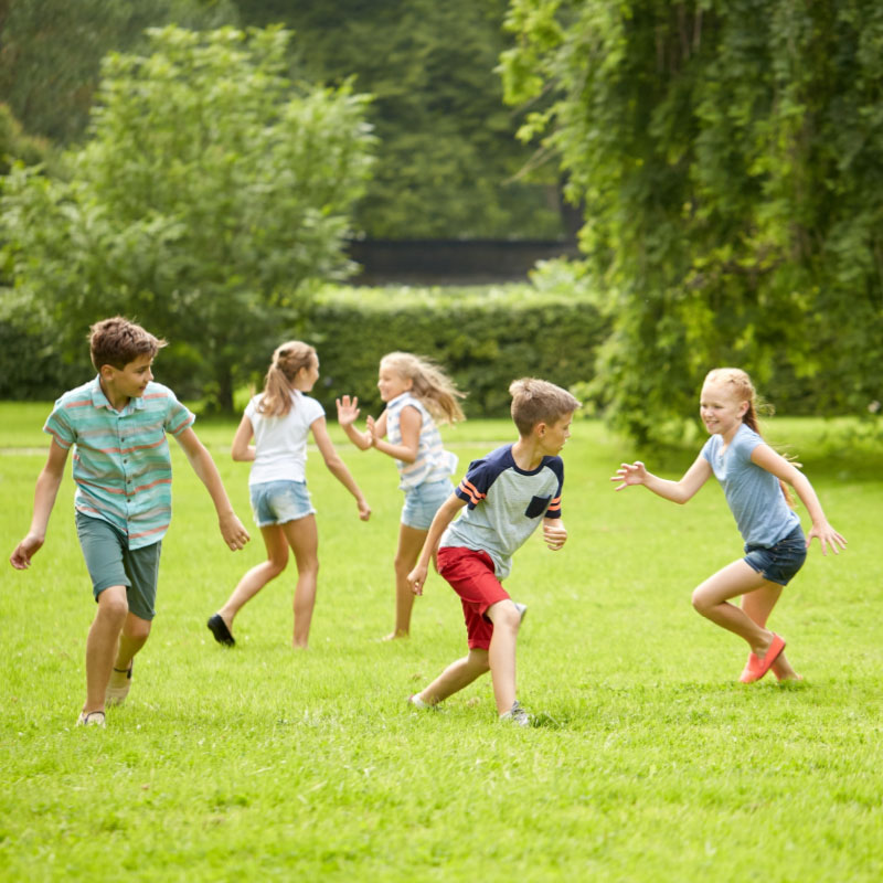 Photo Of Kids Exercising In A Park